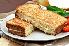Caramelized-Onion Grilled Cheese Recipe | Hungry Girl