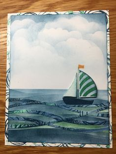 Stampin Up ~ Swirly Bird bundle New In Color inks: Dapper Denim, Emerald Envy & Peekaboo Peach