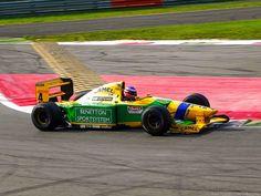 Benetton B192 Michael Schumacher, Benetton, Formula 1, F1, Camel, Racing, Running, Auto Racing, Camels
