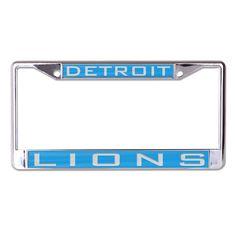 Detroit Lions License Plate Frame - Inlaid (backorder)