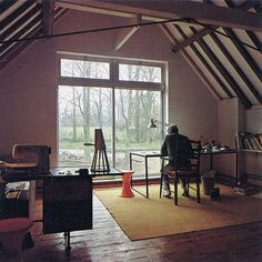 Studio for two.