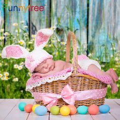 Funnytree photography background spring flower grass old wood wall easter backdrop photocall photo studio printed-in Background from Consumer Electronics on Aliexpress.com | Alibaba Group