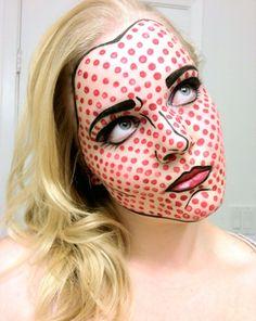 Pop Art Female by FrauleinMakeup.deviantart.com on @deviantART