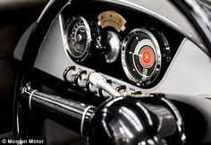 The first three wheel car was built in 1885 and an automobile company has kept the tradition alive over the past 130 years – just with some modern adjustments.The car company has implemented a new dashboard design that displays a classic 'magneto' switch for drive selection, a digital screen, wood, brass and glistering aluminium