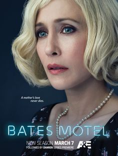 "Bates Motel: New Vera Farmiga Poster for Season 4  Check out the brand new Bates Motel poster below featuring Vera Farmiga as Norma Louise Bates in the fourth season of the A&E series.  The character artwork also bears the tagline ""A mother's love never dies."" As any Psycho fan worth their salt will tell you Norma ends up a rotting corpse in her own home as her son Norman Bates grows up to be the cross-dressing serial killer we all know and fear.  Click on the poster below for the hi-res…"