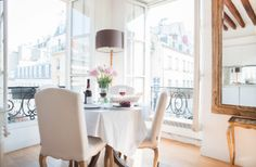 Top 10 Paris Perfect Apartment Rentals for a Soirée Privée Paris Apartment Rentals, Paris Apartments, Rental Apartments, Bedroom With Bath, One Bedroom, Apartment Door, Bedroom Apartment, Floor To Ceiling Windows, Ceiling Beams