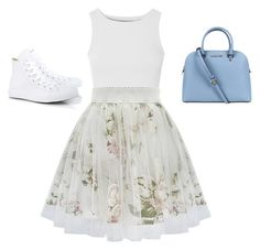 """""""Summer Party"""" by tiggywigi on Polyvore featuring Glamorous, Converse and Michael Kors"""