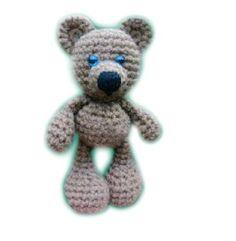 Free Crochet Bear Pattern - Crochet Me