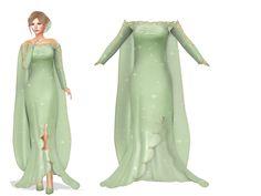 https://flic.kr/p/26LLH3g | New release: Elf Gown | marketplace.secondlife.com/p/Full-Perm-Fitmesh-Womens-Elf...