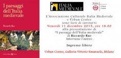 """MedioEvo Weblog: """"I paesaggi dell'Italia medievale"""" presentazione a Milano"""