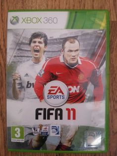 MICROSOFT XBOX 360 EA SPORTS FIFA 11 PAL MANUAL FOOTBALL ROONEY PREMIER LEAGUE