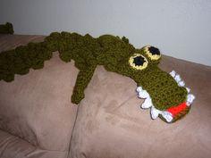 Croco scarf