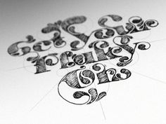 typography, type treatments & illustration 02 on the behance network