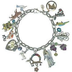 Kirks Folly Rainbow bridge pet memorial charm bracelet