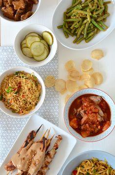 zelf een rijsttafel maken ~ uit Paulines keuken