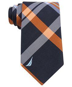 Nautica Tie, J Class Plaid - Mens Ties - Macy's
