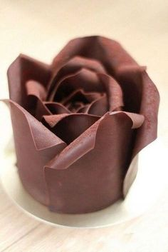 Schokoladenblüte