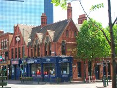 Broad street Birmingham UK