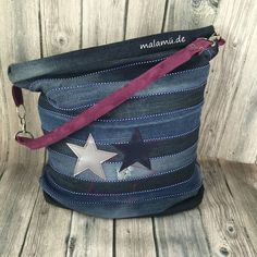 Chobebag, Handtasche, Jeans, Jeans Upcycling, selbstgenäht, malamü, RUMs, RUMs am Donnerstag,