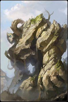 ✧ #characterconcepts ✧ Earth elemental