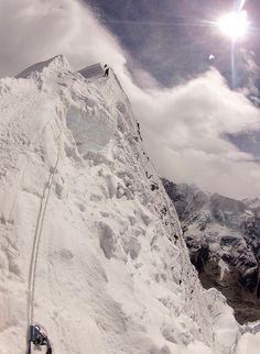 En de moeilijkste maar mooiste uitdaging voor mij was: Island peak, Himalaya