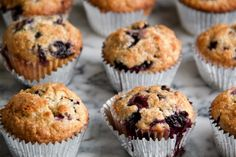 Classic Blueberry Muffins » Dunk & Crumble