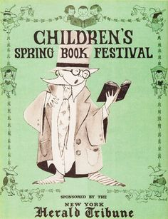 Maurice Sendak's Little-Known and Lovely Posters Celebrating Books and the Joy of Reading | Brain Pickings