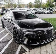 All black Audi