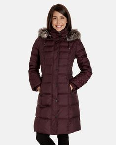Cole Haan Hooded Long Down Puffer Coat with Vestee | macys.com ...
