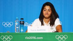 Meet the Olympic swimmer and Syrian refugee who saved 20 refugees from drowningYusra Mardini a Syrian swimmer who now represents the team of Refugee Olympic Athletes (ROA) speaks to the media at the Olympic Refugee Team Press Conference.  Image: dean mouhtaropoulos/Getty Images  By Emma Hinchliffe2016-08-06 10:08:56 -0400  Yusra Mardini swam for her life and now shes swimming for gold.  The 18-year-old athlete saved 20 people when the boat they were traveling in while fleeing Syria began to…