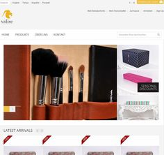 This is the Homepage from Valise-online.