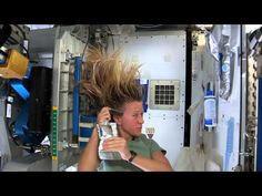 How to wash your hair in space