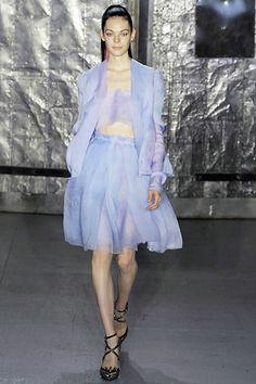 Rodarte Spring 2008 Ready-to-Wear Fashion Show - Raquel Zimmermann