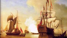History of the Sailing Warship in the Marine Art: Hedwig, Master And Commander, Navy Paint, Ship Paintings, Realistic Paintings, Human Connection, Tall Ships, Royal Navy, Buy Prints