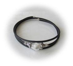 Glasperlenarmbänder - °°° Pusteblume Armreif °°° - ein Designerstück von Mirakel1807 bei DaWanda Bangle Bracelet, Armband, Flowers