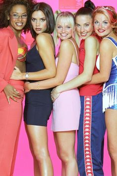 spice girls-reminds me of my girls when they were little and their friends...sweet!