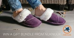 This holiday season enter to a win a pair of quality crafted sheepskin slippers and gloves from Nunuuuk. Winner will be announced on December 20th, 2015.