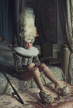 Rococo Inspired #twist #editorial