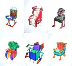 ch1 Design a Chair in combination with a study of Art Nouveau