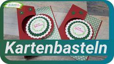 Swing Card Kartenbasteln am Feierabend | Karte zum Geburtstag [Tutorial | deutsch] Grußkarten / Geburtstagskarte selber basteln für Anfänger und Fortgeschrittenen. Karten selber basteln -  Kartenbasteln einfache DIY Inspiration basteln mit Papier (Selbstgebastelte Karten / How to / Cards 23/2020)  [Tutorial | deutsch] Diy Inspiration, Creative, Youtube, Cards, Deutsch, Book Folding, Simple Diy, Playing Cards, Youtubers