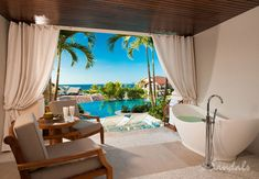 Sandals La Source Grenada, luxury all-inclusive honeymoon resort in the Caribbean.