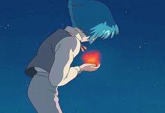むぎさんはInstagramを利用しています:「ハウルとカルシファー ・ ・ ・ #ハウルの動く城#ハウル#カルシファー#星空#星#流れ星#夜空#ジブリ#ジブリ好きな人と繋がりたい#いいね返し」 Studio Ghibli Art, Studio Ghibli Movies, Howl And Sophie, Howls Moving Castle, Hayao Miyazaki, Shiro, Disney Animation, Totoro, Anime Characters