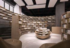 Tongji bookstore by Archi Union Architects, Shanghai store design