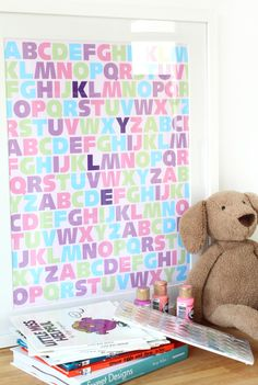 MadeByGirl: ABC Girls (Baby Room) PERSONALIZED