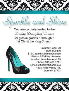 invitation - Daddy daughter dance 2013