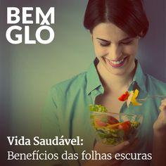 Hoje falamos sobre por que é tão importante consumir folhas escuras, vem com a gente e confira! ;) #bemglo #vidasaudavel #folhasescuras