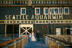 Whimsy Meets Romance at the Seattle Aquarium | Seattle, WA