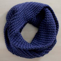 Chunky Crochet Infinity Scarf Great for by TheSweeterSideMom