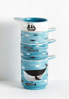 Swell Sea-soned Measuring Cups