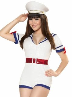 Romper Sailor Costume